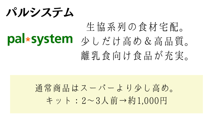 パルシステムの説明